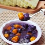 超级Q弹软糯的紫薯芋圆