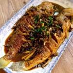 雪菜烧黄鱼