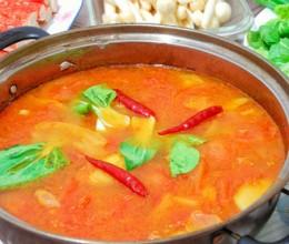 美容养颜又瘦身的——海底捞番茄锅底