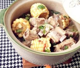 排骨玉米砂锅煲