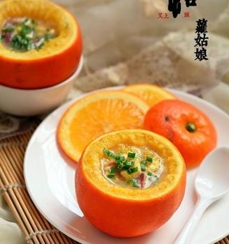 鱼肉酿橙子