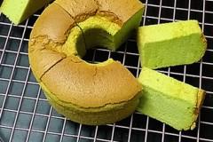 菠菜汁戚风蛋糕