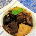 香菇豆干烧野鸭