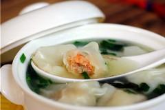鲜虾鸡汤馄饨
