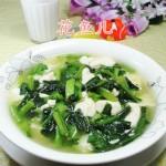 油菜蕻煮豆腐