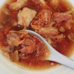 姬松茸墨鱼干排骨汤