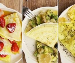 可丽饼的5种做法 太阳猫早餐