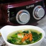 菠菜蛋花汤#苏泊尔第三季晋级赛#