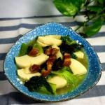 冬笋白菜汤