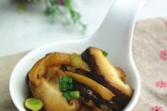 香菇榨菜小炒