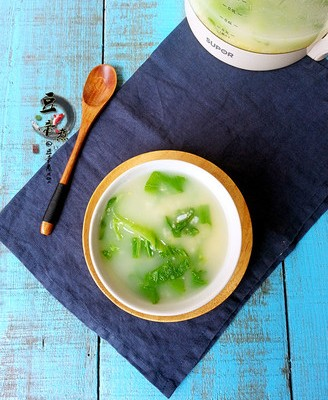 芥菜杂粮粥#苏泊尔第三季晋级赛#