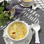 蛋花山藥甜湯