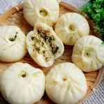 青菜豆腐包子