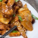 炒雞好吃的韓式炒雞