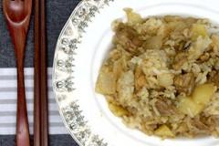 藜麦鸡块饭