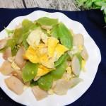 杏鮑萵筍炒雞蛋