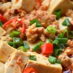肉末焖豆腐