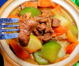 青红萝卜烧羊肉