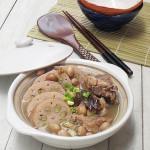 莲藕龙骨绿豆汤