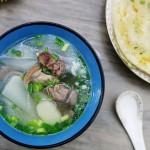 大雪滋補:蘿卜馬蹄羊肉湯