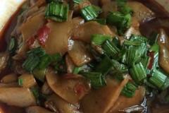 豆瓣酱磨芋
