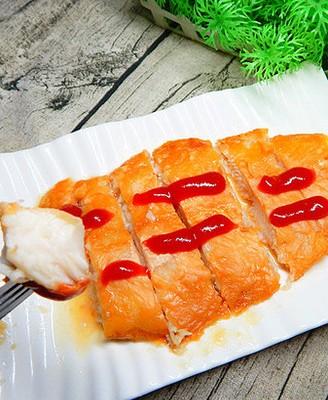 空炸茄子汁鱼片