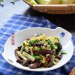 大白菜炒血豆腐