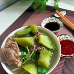 清炖羊骨青萝卜