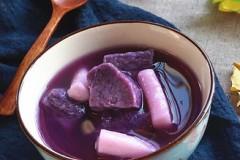 紫薯年糕汤