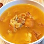 耙豌豆蹄花汤