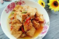 夹心豆腐炒肉