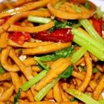 芹菜豆干丝