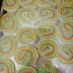 彩虹棒棒糖饼干