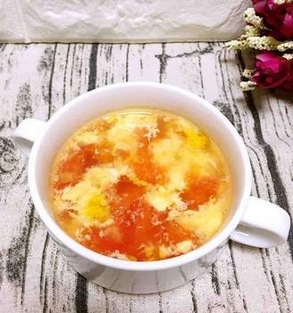 西红柿蛋花汤