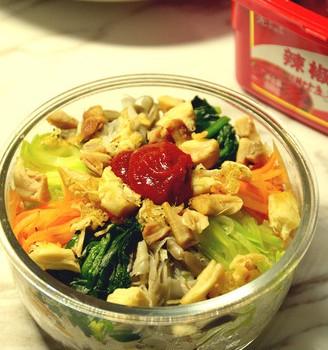 简易韩式拌饭