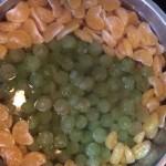 葡萄桔子罐頭