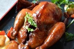 香喷喷的烤鸡