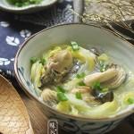 牡蛎白菜汤