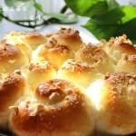 花生玫瑰花面包