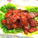 韓式辣醬烤五花肉
