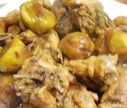 黄焖栗子鸡