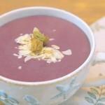 紫薯蓝莓热饮懒人版