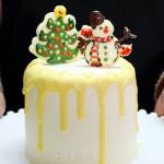 圣誕版咖啡力嬌酒蛋糕