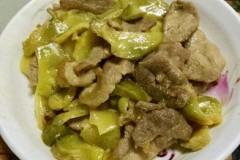 榨菜炒瘦肉