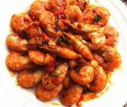 韩式辣酱烧北极虾