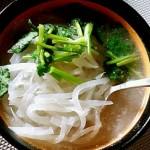 白萝卜丝汤