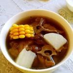 玉米萝卜羊蝎子汤