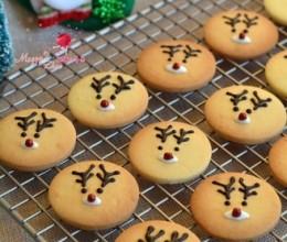 圣诞驯鹿饼干
