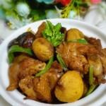 香菇栗子炖鸡