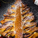 榛子醬圣誕樹扭扭卷